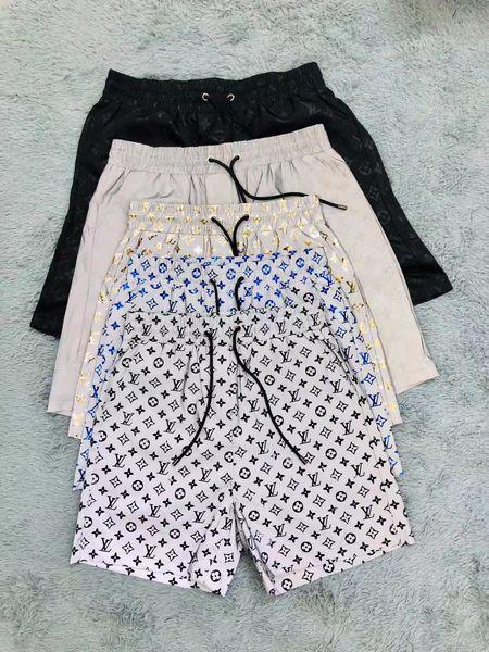 Новые роскошного дизайн случайных мужских шорт змей цветочного узора вышивки мужских плавательные шорты высоких уличная мода пляж Медуза штаны