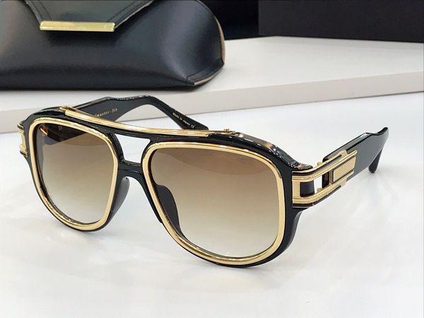 luz gradiente de ouro negro lente castanho