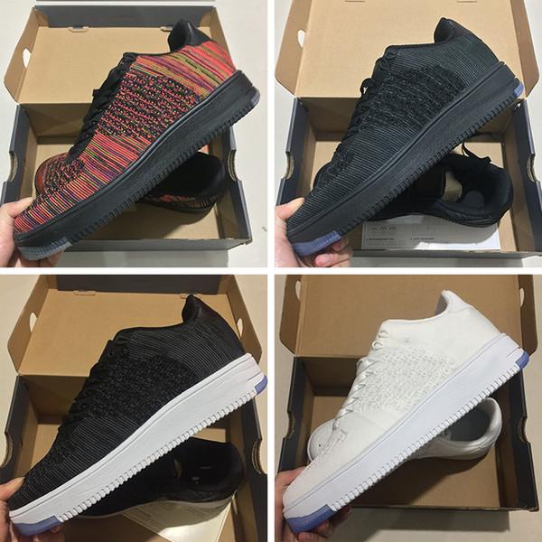 Nike air max force fly 2019 Yeni Moda Erkekler Ayakkabı Düşük Bir 1 Erkekler ve Kadınlar Çin Rahat Ayakkabı Tasarımcısı Royaums Tipi Paten nefes Femme B ...