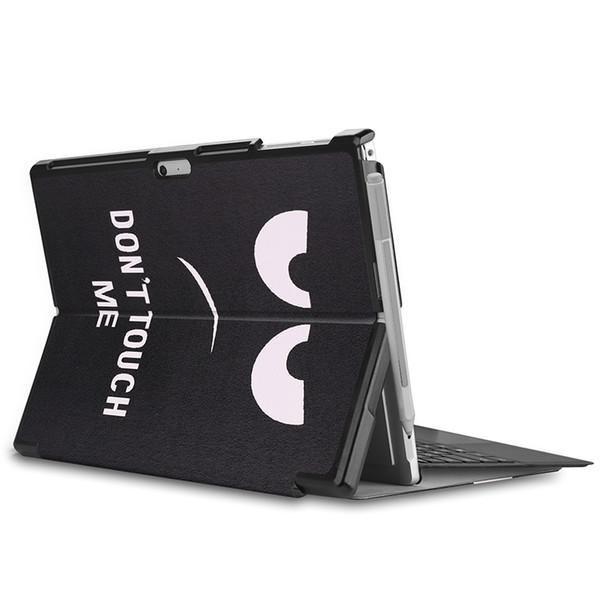 Flip Cover 30PCS con slot per matita per Microsoft Surface Pro 4 Pro 5 Pro 6 Tablet Custodia protettiva per pelle + stilo