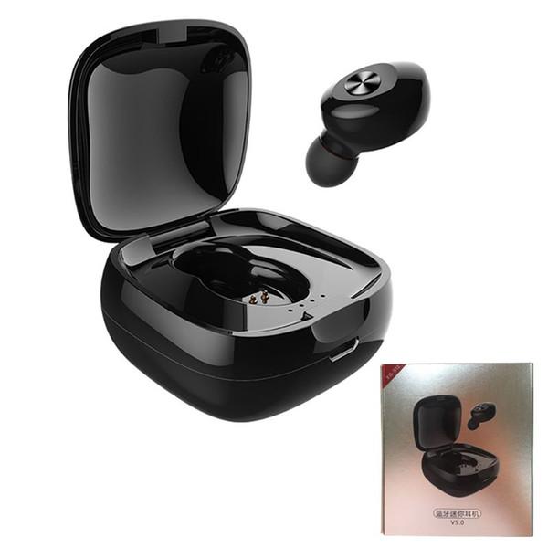 XG-D12 Verdadero Wireless Bluetooth 5.0 HeadPhone Dual Pass 3D Auriculares estéreo Auriculares Manos libres Deportes Auriculares inalámbricos Auriculares con micrófono