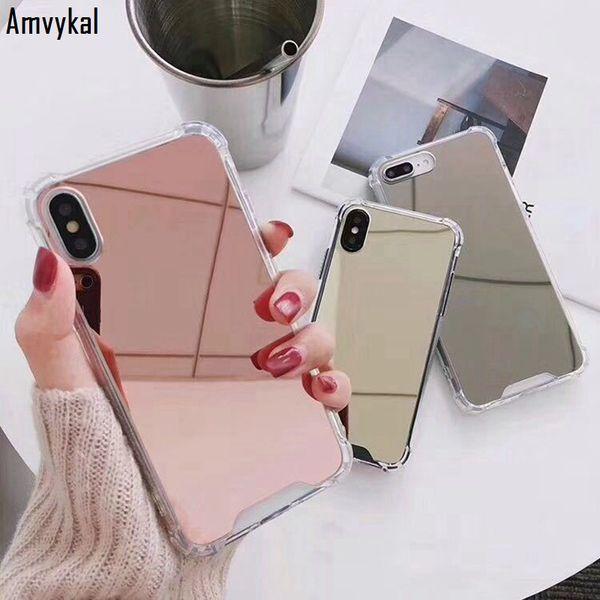 coque iphone xs max effet miroir
