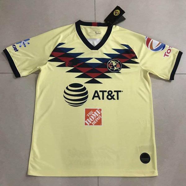 67aba1672 2019 2020 Club America Soccer Jersey 19/20 Home Away Mexico League O.PERALTA