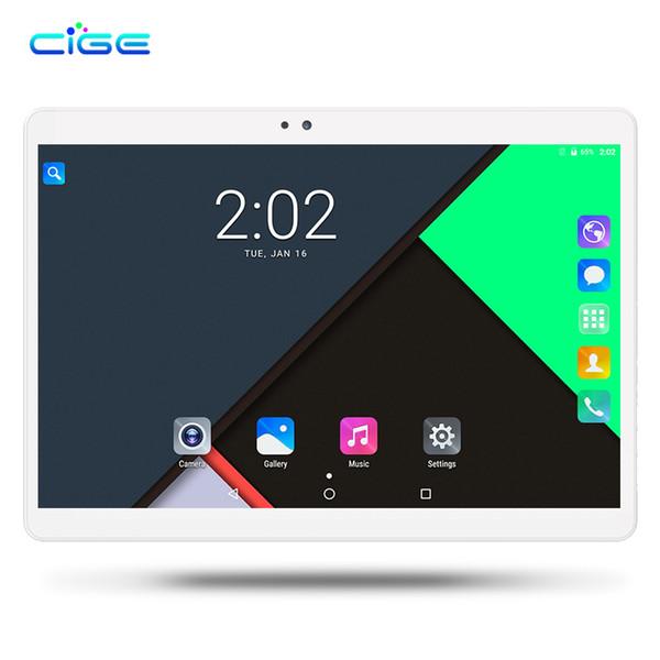 CIGE Original MediaPad 10.1 polegada Tablet PC Android 7.0 Octa Núcleo 4 GB RAM 64 GB ROM Câmera Dupla cartão SIM WIFI GPS BTHTablet 10