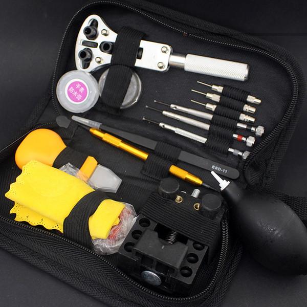 12pcs China Top Watch Repair Tool Set Multifunctional Watchmakers Set Link Remover Tweezer Wrench Repair Tools Kits WR1006