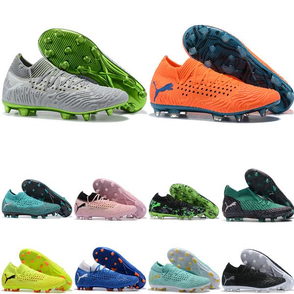 2019 en kaliteli erkek futbol ayakkabıları Gelecek Netfit Griezmann 19.1 FG futbol cleats ucuz futbol çizmeler