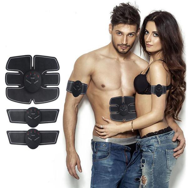 ABS Stimolatore Massaggiatore Elettrico EMS Trainer Wireless Stimolatore Muscolare Intelligente Body Fitness Massager Wireless Strumenti di Assistenza Sanitaria C19011201