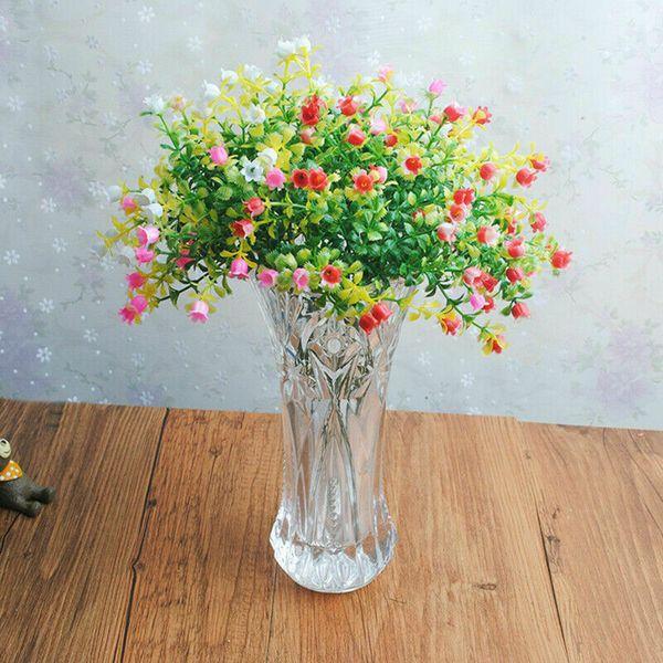 Plantes artificielles Fleurs séchées Miniature Faux Faux Cactus Plante artificielle Décorations pour la maison Party Décoration florale