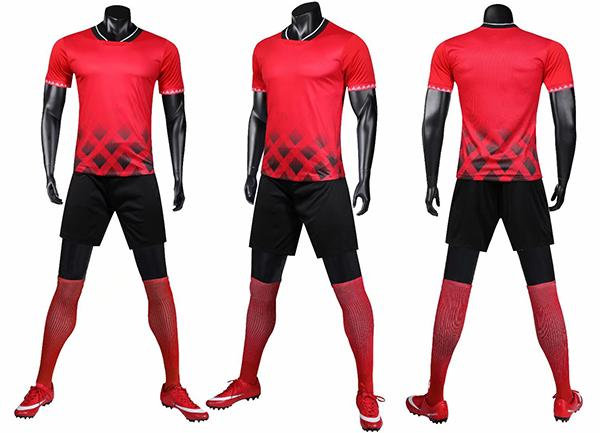 top popular Men's loose-fitting workout suit, a new 2019 summer sport suit, is a quick-drying shirt with short sleeves 2019