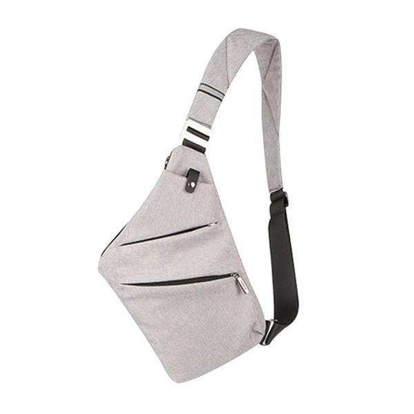 Verão Preto Esportes Único Sacos de Corrida De Ombro para Homens À Prova D 'Água Nylon Crossbody sacos Saco Do Mensageiro Masculino # 782837