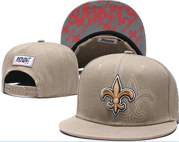 2020 del ventilador sombreros de los snapbacks de los hombres sombrero de deporte de las mujeres de Nueva Orleans NO ajustable Proyecto gorra de todo el equipo de On-Stage Snapback acepta la gota A18 buque