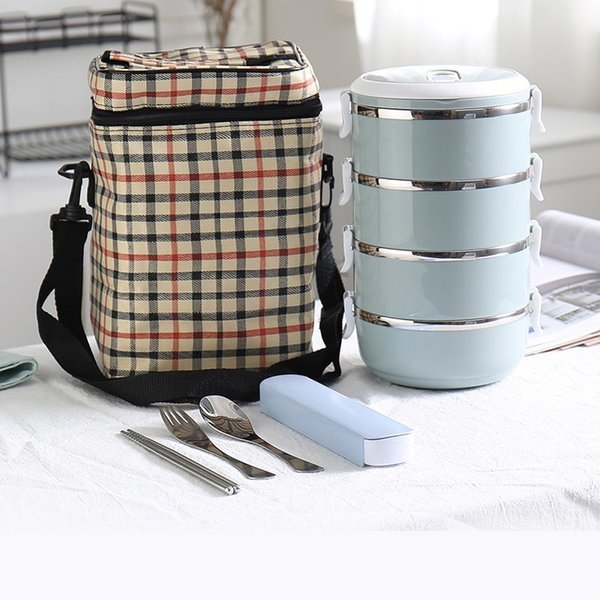 Blue 4 Layer And Bag