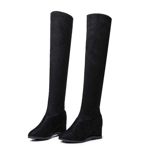 free transport style winter boots women 2019 fashion soft velvet women boots Long tube size 35-40