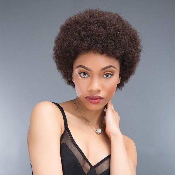 Phenomenal Human Full Short Wig Huamn Hair Capless Wigs Afro Curly Short Schematic Wiring Diagrams Amerangerunnerswayorg