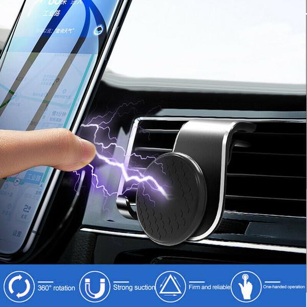 Универсальный магнитный держатель телефона клип салона Воздуховод Кронштейн Мобильные телефоны GPS Stand новые автомобили Аксессуары