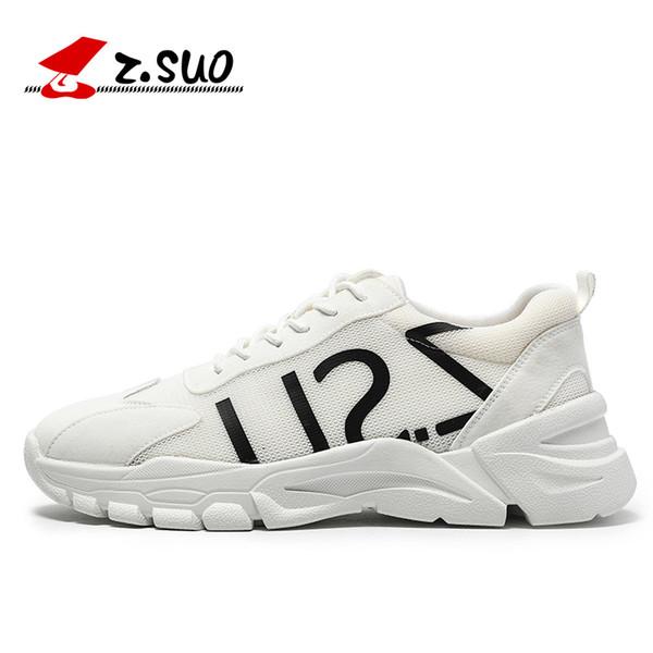 YOUYEDIAN Повседневная обувь Мода кроссовки досуг Мужчины Чистая Поверхность спущенной Баскетбол обуви Non-Slip Дышащие Sneaker # 5