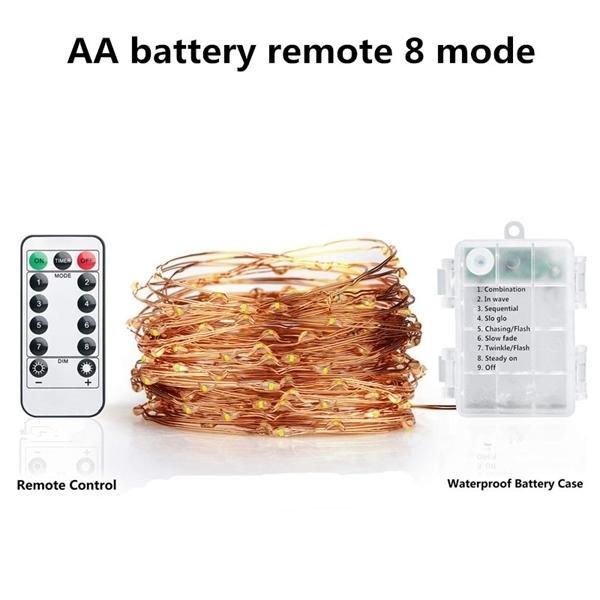 8mode remote light