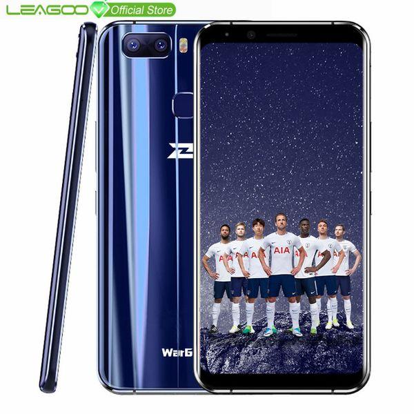 2019 Global Version LEAGOO S8 Pro WarGod Smartphone 5 99 18:9 Android  MTK6757 Octa Core 6GB RAM 64GB ROM Fingerprint 4G Mobile Phone From