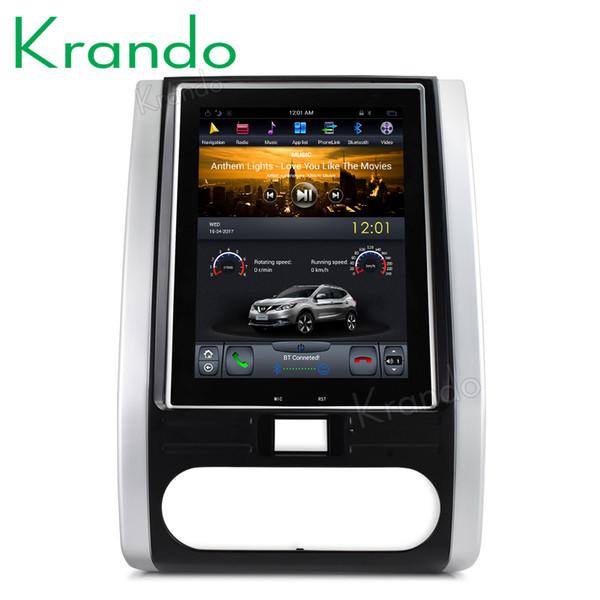 "Krando Android 7.1 10.4"" Vertical screen car radio player for Nissan X-trail Qashqai 2007-2012 navigation multimedia system car dvd KD-NV316"
