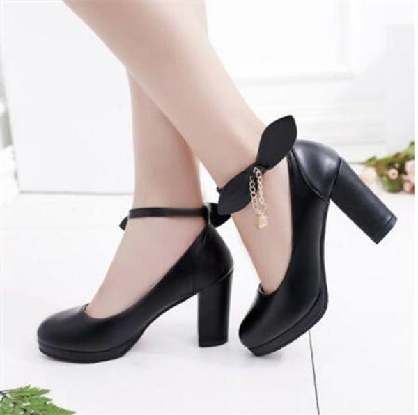 2020 regalos zapatos de boda YMECHIC Damas Blanco púrpura de la novia del grano de cristal de cadena correa del tobillo de la plataforma tacones altos bombea los zapatos de la mujer del verano