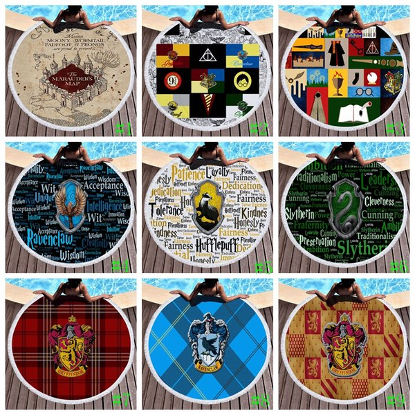 Harry Potter Beach Towel Summer Beach Carpet Tapestry Blanket