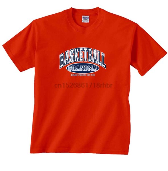 Basketbol Büyükanne ve Gururla Tişört
