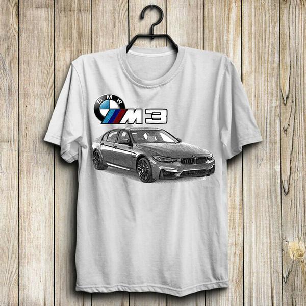 Camiseta B.M.tw M3 / M Power /// draw - Camisa tan genial para hombre de EE. UU. Talla S a 4XL.