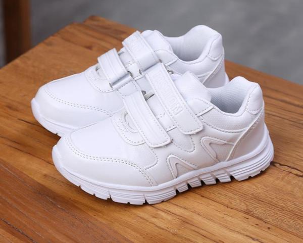 Durchführung Laufgymnastik Stone Schuhe Von Sport Jungen 12339 Kinder Leder Auf Mädchen Kindergarten Weiße Und Großhandel 4 MGzUVSqp