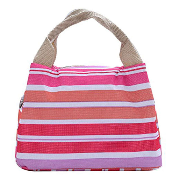 CONEED Thermal Insulated Lunch Bag Tote Cooler Zipper Bag Bento Lunch Pouch for women thermal bags for kids 19jan21