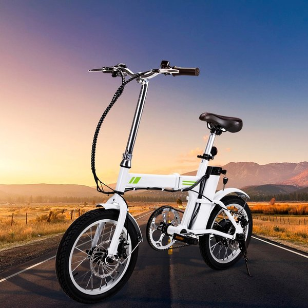 top popular wholesale 36V 6AH Lithium Battery Mini Electric Bicycle New Outdoor E-Bike with Collapsible Frame and Handlebar Display 2020