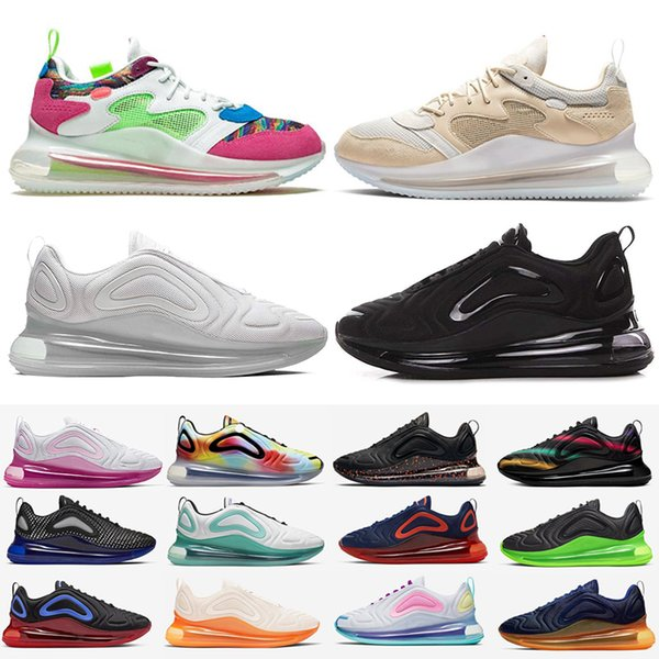 best selling 720 OBJ Sneakers Mens Metallic Platinum Zapatos Be Ture Women White Pink Sea Triple Black 720s Chaussures Trainers 72C Sports Running Shoes