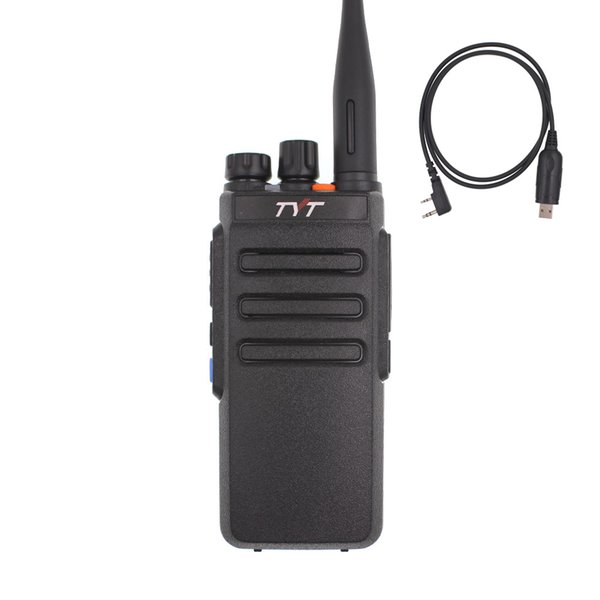 TYT MD-730 Walkie Talkie Dual Band DMR Radio Digital Intercom Tier 1&2 Two Way Radios MD730 Dual Time Slot Transceiver