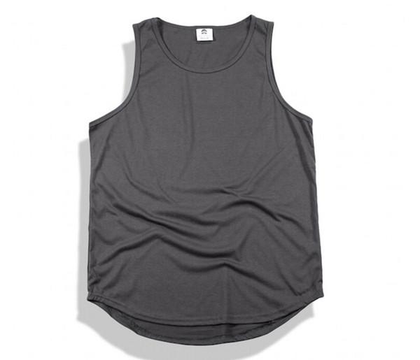 2019 Hommes Tops Printemps Été Nouveau Slip Coton Haut Street Hole Vest Pour Hommes Mâle Hip-Hop Débardeurs 10 Couleurs En Gros