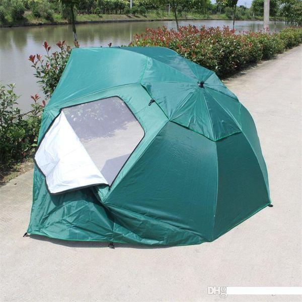 Beau Durable Sun Umbrella Toutes les portables Météo Oxford Camping Tentes Équipement pêche à grande abris Résistance au vent Parasol 88ty bb