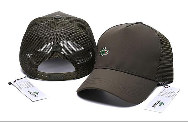 293e48bc456595 crocodile good quality Cap Fashion Golf Classic Baseball Hats Polyester  Adjustable Plain polo snapback bone Casquette outdoor gorras dad hat