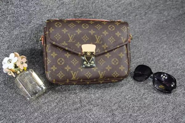 Neue Ankunft Öl Leder Handtaschen für 535 Frauen Große Kapazität Casual Taschen Trunk Tote Umhängetasche Damen Big Crossbody Taschen