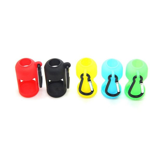 Nice Colorful Silicone Shell Sleeve Protective Case Skin Key Buckle Portable Innovative Design For Vape 30ML Oil Bottle High Quality