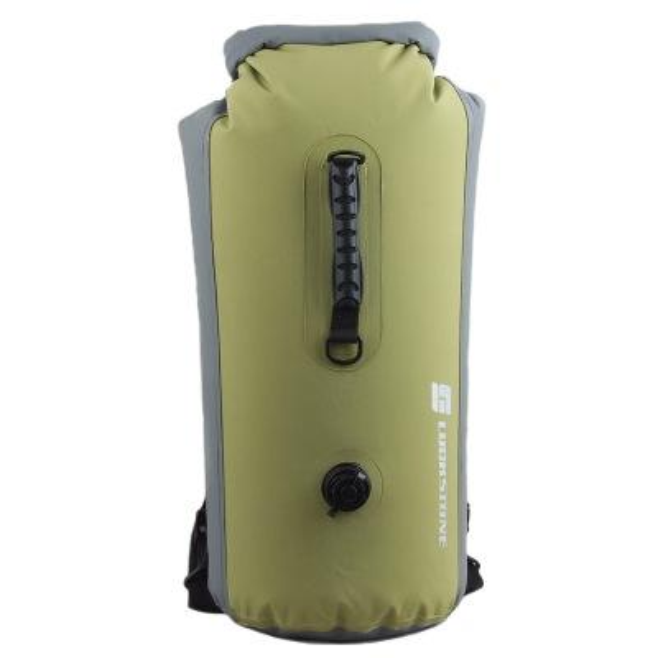 Açık PVC su geçirmez sırt çantası kuru çanta Kayık Kano Rafting Çift Omuz bolsa yüzme pvc çanta spor çanta 60L H1