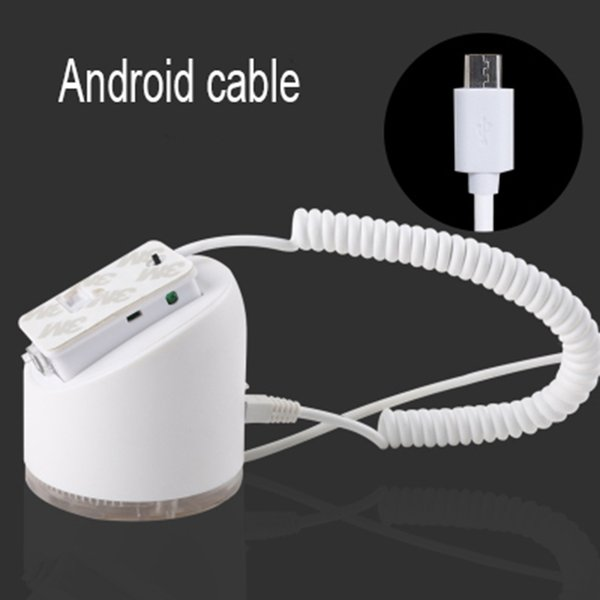 White Andriod cable