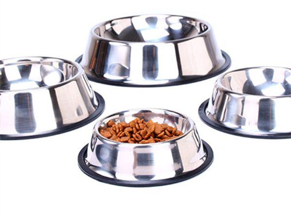 Edelstahl Hundenapf Pet Bowl Pet Feeding and Water Bowl für Hunde und Katzen und andere Haustiere