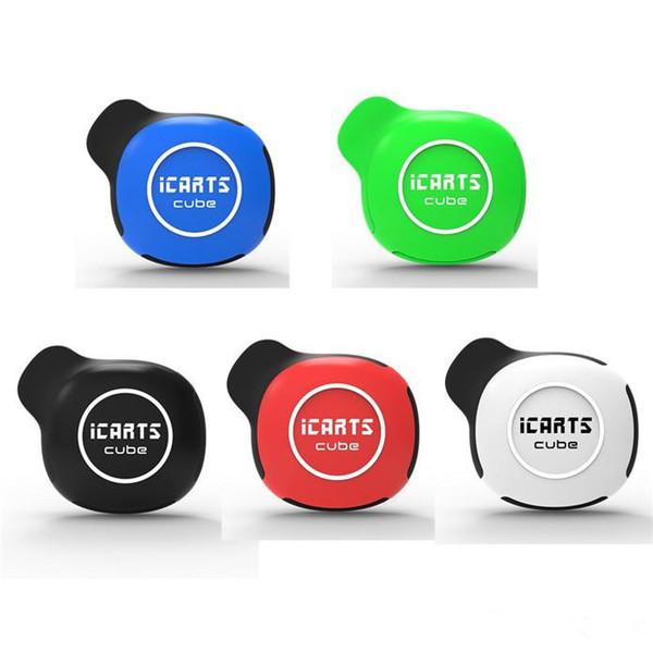 100% Оригинал Icarts Cube Starter Kit 550 мАч Напряжение Батареи Регулируемый Vape Box Мод для 510 Нити Толстые Масляные тележки Картридж Подлинная DHL