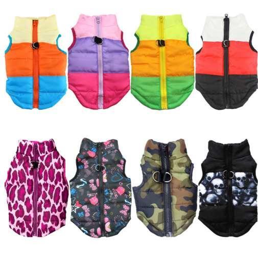 Vestiti caldi dell'animale domestico per i vestiti del cane per il piccolo cappotto del cappotto del cane Cucciolo Vestiti dell'animale domestico per i cani Costume Vest Vestel Chihuahua Jacket46A1