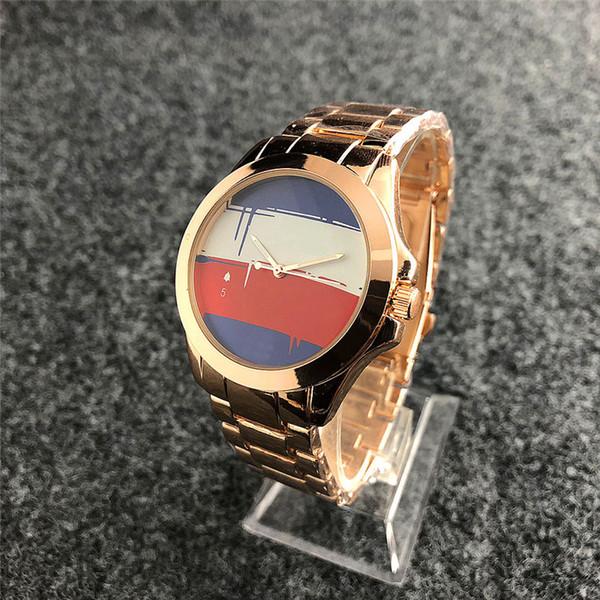 2019 reloj mujer marca de moda relojes para mujer balck white Ladies dress pulsera reloj de pulsera para hombre reloj de oro daydate reloj de cuarzo regalo