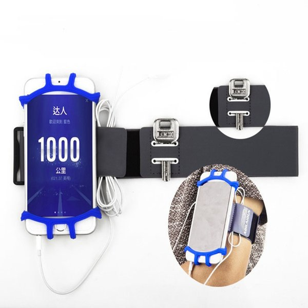Running Armband Sports Cell Phone Case Holder with Key and Earphone Holder for Hiking /Biking/ Walking