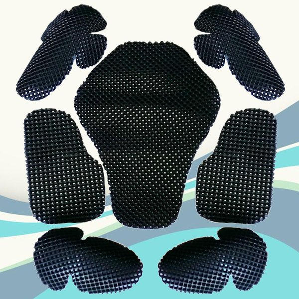 top popular 7Pcs Set Motorcycle Absorption EVA Shoulder Elbow Chest Back Protector 2020