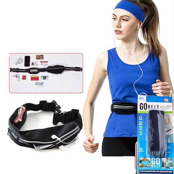 Outdoor-Sport Gürteltasche Rucksack für Männer und Frauen Fitness Laufen, Wandern, Diebstahlsicherung, wasserdichtes Handy elastische Tasche Designer