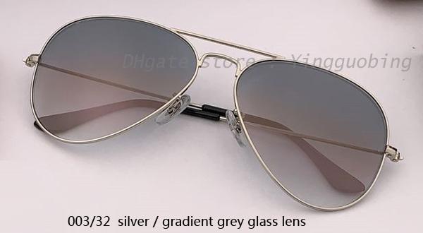 003/32 серебристый / градиентный серый