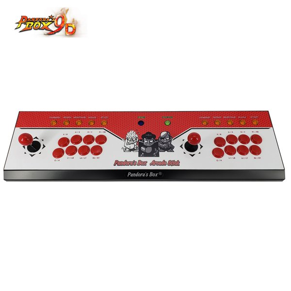 2019 New King of fighters Joystick Consoles with multi game PCB board 2222 in 1,pandora box 9D arcade joystick game console