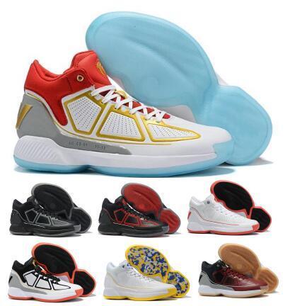 Derrick D 10 10s Basketbol Ayakkabı Sneakers Gül X 10 MVP Çıkma Altın Yüksek Man Erkekler 2020 Yeni Geliş Atletik Çizme Ayakkabı Rose