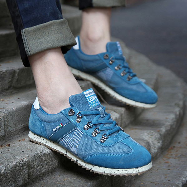 Cheap 2019 Men Casual shoes Sale New Style Women Outdoor Casual Leather Canvas Shoes Free Shipping A0104
